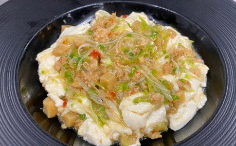 タイ風ガパオ豆腐